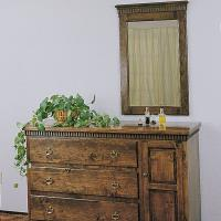Woodworking Project Paper Plan to Build Dresser and Mirror Plan No. 69