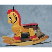 Woodworking Project Paper Plan to Build Rocking Horse