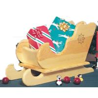 Woodworking Project Paper Plan to Build Table-top Sleigh Plan No. 848