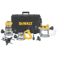 DeWalt 2-1/4HP Three Base Router Kit Model DW618B3