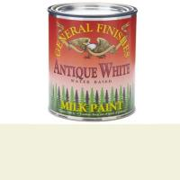 General Finishes Antique White Milk Paint Quart