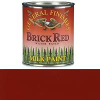 General Finishes Brick Red Milk Paint Quart