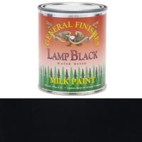 General Finishes Lamp Black Milk Paint Pint