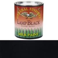 General Finishes Lamp Black Milk Paint Quart