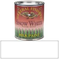 General Finishes Snow White Milk Paint Quart
