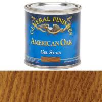General Finishes American Oak Gel Stain 1/2 Pint