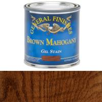 General Finishes Brown Mahogany Gel Stain 1/2 Pint