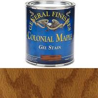 General Finishes Colonial Maple Gel Stain Quart