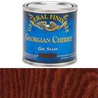 General Finishes Georgian Cherry Gel Stain 1/2 Pint