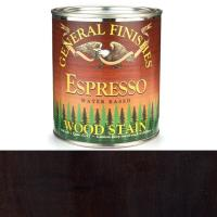 General Finishes Wood Stain Water Based Espresso Stain Quart