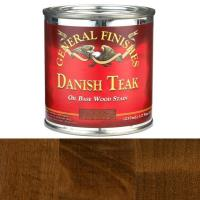 General Finishes Danish Teak Oil Stain 1/2 Pint