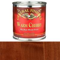 General Finishes Warm Cherry Oil Base 1/2 Pint
