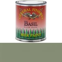 General Finishes Basil Milk Paint Pint