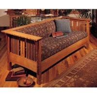 Woodworking Project Paper Plan to Build Arts and Crafts Mission Sofa a