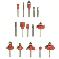 Freud 90-100 Advanced Router Router Bit Set 15-Piece 1/4