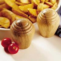 Downloadable Woodworking Project Plan to Build Turned Salt and Pepper