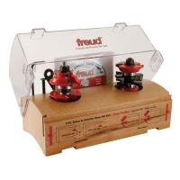 Freud 99-268 Two Piece Entry Door Router Router Bit Set Ogee 1/2