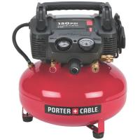 Porter-Cable Oil-Free Pancake Compressor 150 PSI 6 Gallon Model C2002