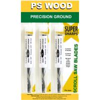 PS Wood Super Sharps Variety Pack Scroll Saw Blade 7 x 5 x 2 Skip Toot