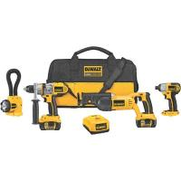 DeWalt 18V XRP Lithium Ion 4-Tool Cordless Combo Kit Model DCK475L