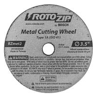 Roto Zip Metal Zip Wheel