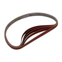 Sanding Stick Replacement Belts 80 Grit 5 pack