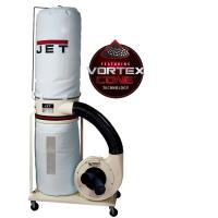Jet Vortex Cone Dust Collector 1.5HP 1PH 115/230V 30-Micron Bag Filter