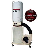 Jet Vortex Cone Dust Collector 1.5HP 1PH 115/230V 5-Micron Bag Filter