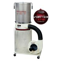 Jet Vortex Cone Dust Collector 2HP 1PH 230V 2-Micron Canister Kit Mode