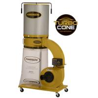 Powermatic TurboCone Dust Collector 1.75HP 1PH 115/230V 2-Micron Canis