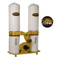Powermatic TurboCone Dust Collector 3HP 1PH 230V 30-Micron Bag Filter