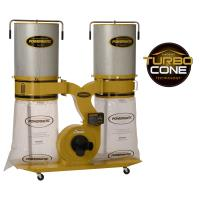 Powermatic TurboCone Dust Collector 3HP 1PH 230V 2-Micron Canister Kit
