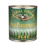 HP Polyurethane Top Coat Flat Quart