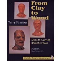 From Clay to Wood Steps to Carving Realistic Faces