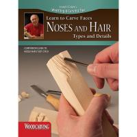 Learn to Carve Noses and Hair Study Stick Kit