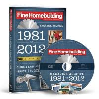 Fine Homebuiding Magazine Annual Archive