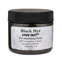 Stick Fast Black Powder Dye for Stabilizing Resin