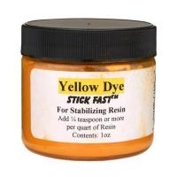 Stick Fast Yellow Powder Dye for Stabilizing Resin