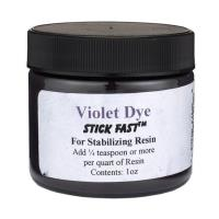 Stick Fast Violet Powder Dye for Stabilizing Resin
