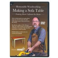 Making a Sofa Table DVD Ken Burton