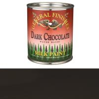 General Finishes Dark Chocolate Milk Paint Pint
