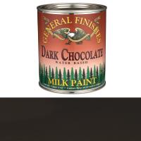 General Finishes Dark Chocolate Milk Paint Quart