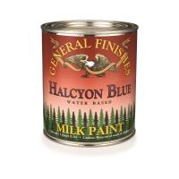 General Finishes Halcyon Blue Milk Paint Quart