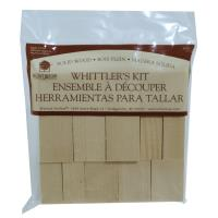 Walnut Hollow Whittler's Kit Basswood 10 Pieces