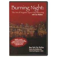 Burning Night The Art of Negative Space Woodburning DVD