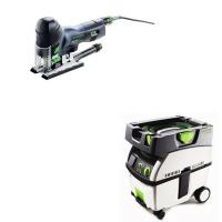 Festool Carvex PS 420 EBQ Plus Jigsaw with T-LOC   CT Midi Dust Extrac