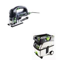 Festool Carvex PSB 420 EBQ Plus Jigsaw with T-LOC   CT Midi Dust Extra
