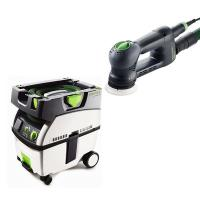 Festool RO 90 Rotex Sander with CT MIDI HEPA Dust Extractor