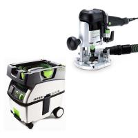 Festool OF 1010 EQ Router   CT Midi Dust Extractor Package
