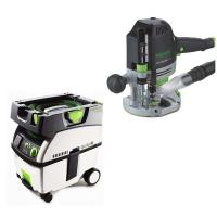 Festool OF 1400 EQ Router   CT Midi Dust Extractor Package